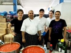 Meet, our kitchen warriors.