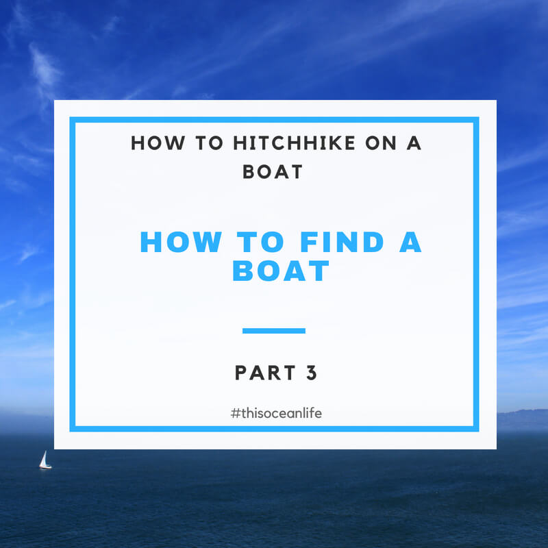 how to hitchhike on a boat