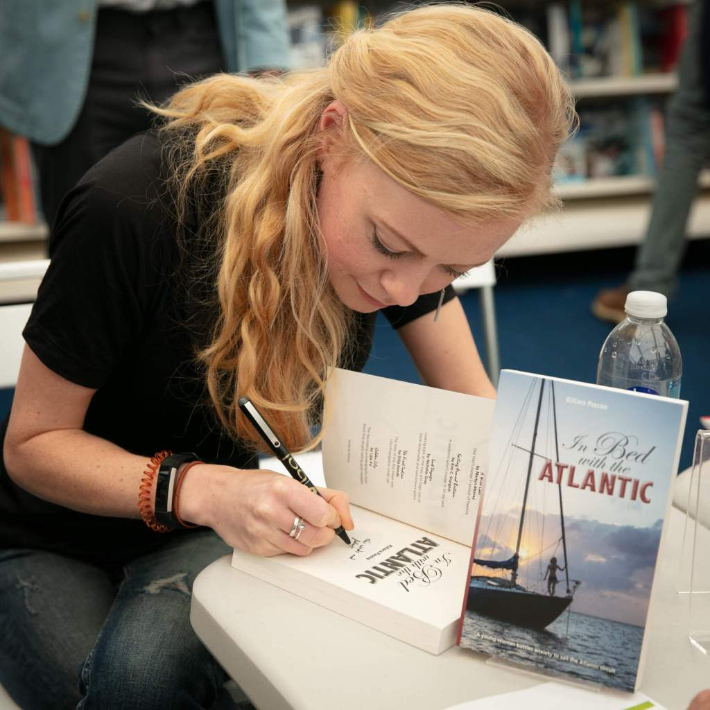 A Day Out at a Book Launch – In Bed with the Atlantic