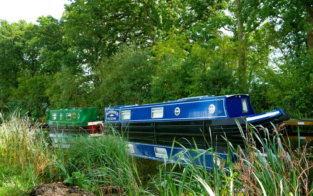 Cycling the Grand Western Canal from Tiverton to Holcombe Rogus
