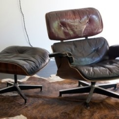 Eames Chair Canada Comfy Chairs For Gaming Lounger At Kitka Design Toronto I Have An Unnatural Attraction To Really Worn In Leather Furniture Ll Just Naturally Assume He Does Aswell This Is 50 Years Young And Quite The