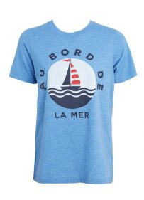 Frankie French nautical tee