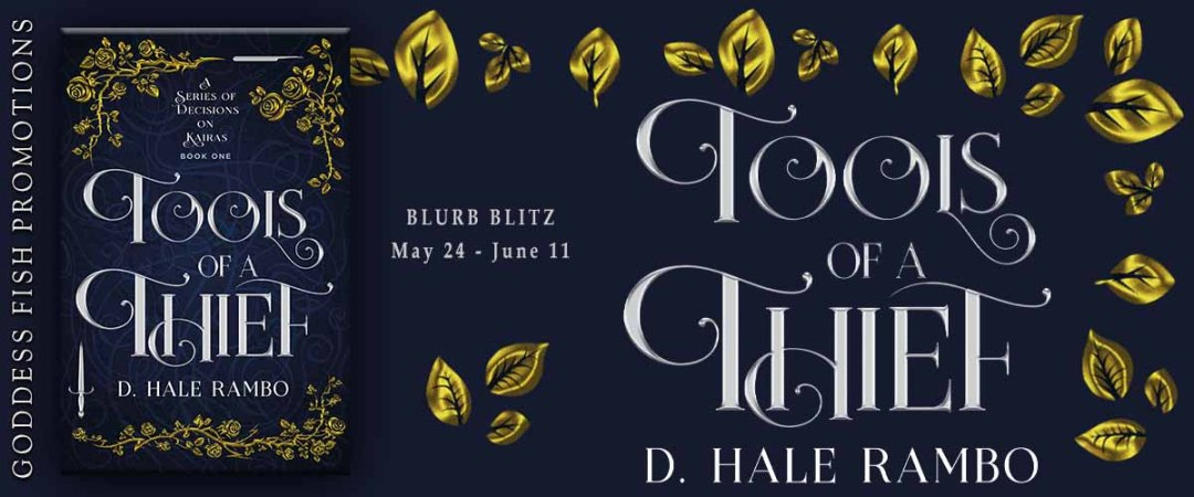 Goddess Fish tour banner for Tools of a Thief