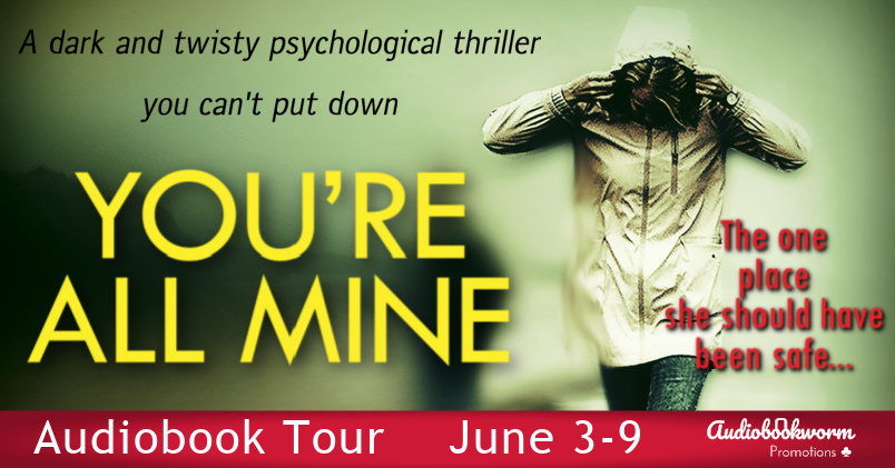 Audiobookworm banner for You're All Mine