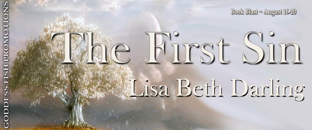 Goddess Fish book tour banner for The First Sin