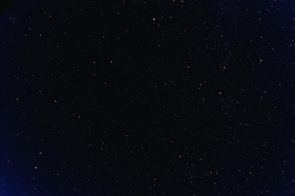 stars in the night sky, sharing thoughts