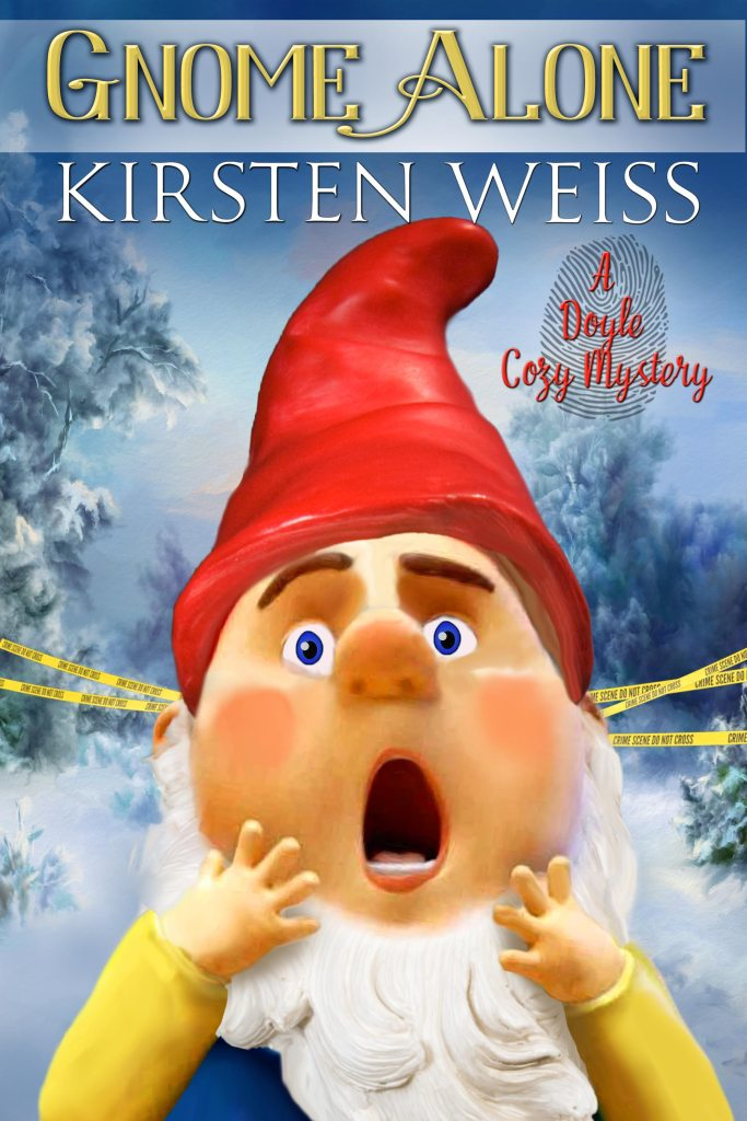 cover of Gnome Alone by Kirsten Weiss