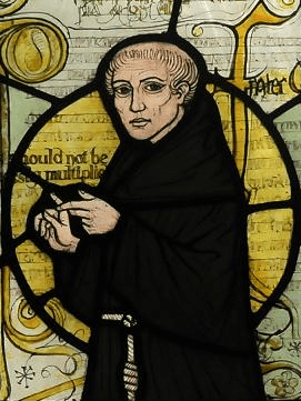 A portrait of William of Ockham