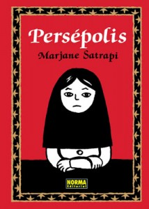Cover: Persepolis by Marjane Satrapi (Pantheon)