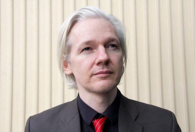 Julian Assange at the Norwegian Conference on Investigative Journalism on March 20, 2010. (Flickr / Espen Moe)