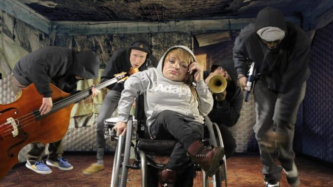 Kalyn of Wheelchair Sports Camp with the rest of her band. (Facebook / Wheelchair Sports Camp)