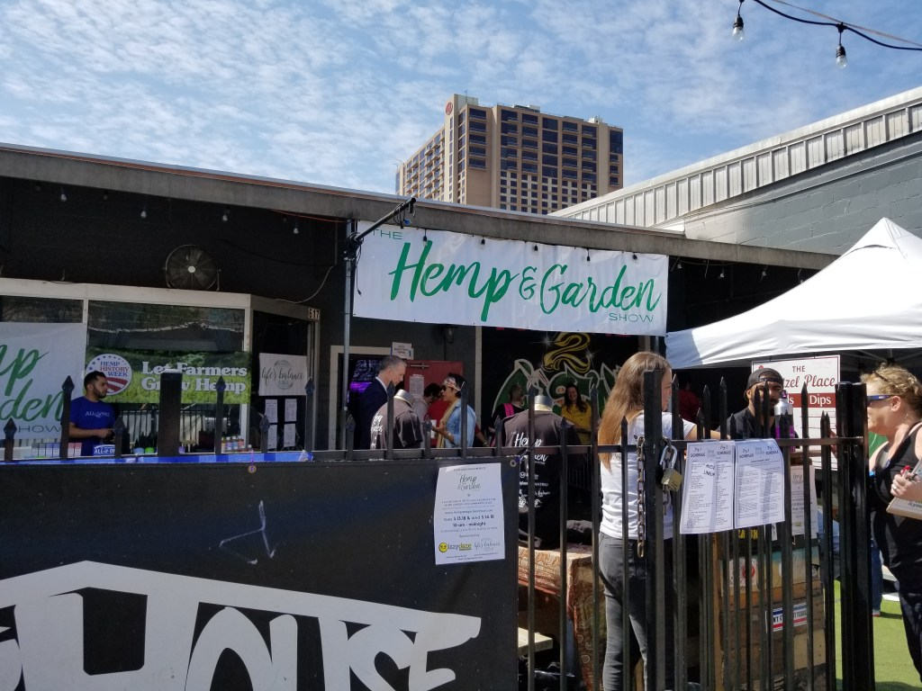 Hemp And Garden Show 2018 at Scatchhouse in downtown Austin