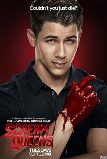 Nick-Jonas-Boone-Scream-Queens-Blood-Poster