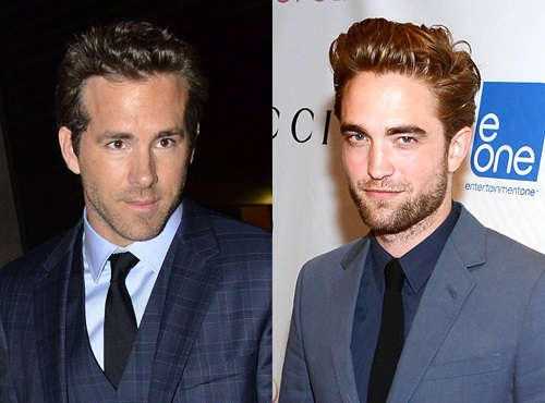 3 Ryan Reynolds Rob Pattinson
