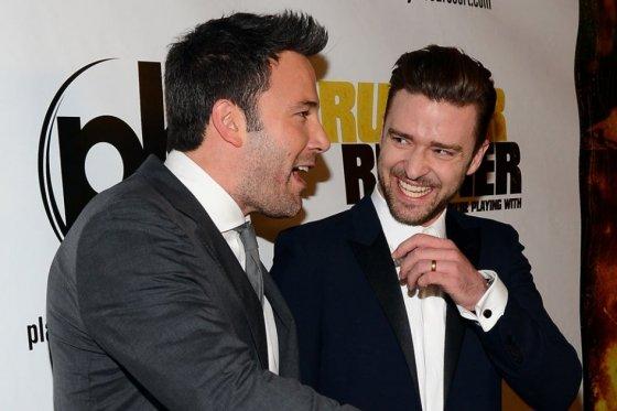 9 Ben Affleck Justin Timberlake