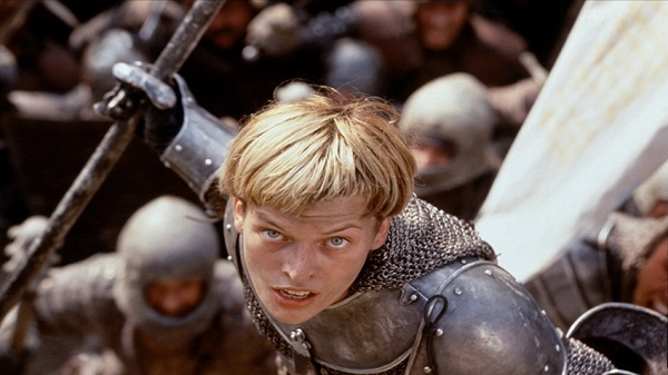 The 1999 movie, 'The Messenger: The Story of Joan of Arc'