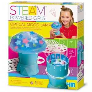 ערכת מדע לילדים – בניה עצמית מנורת אווירה אופטית 4M