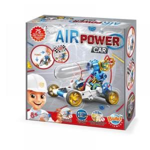 ערכת מדע לילדים בניית מכונית מירוץ על לחץ אויר – Buki