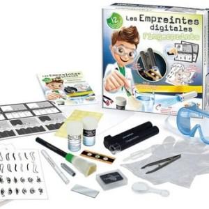 ערכת מעבדה – פענוח חקירות וראיות לילדים 12 ניסויים – Buki