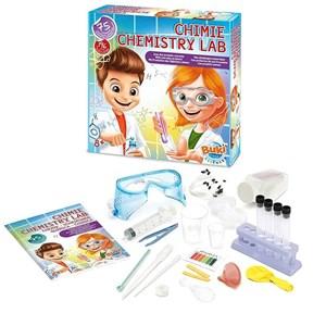 מעבדת ניסויים ביתית בכימיה קיט לילדים ונוער 75 ניסויים – BUKI