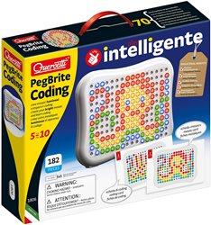 לוח פטריות מאירות Coding- משחק מאתגר לילדים מגיל 5 מבית Quercetti –