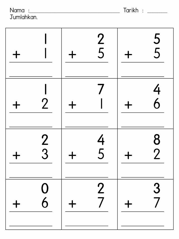latihan-operasi-tambah-1-hingga-10-homeschooling Lembaran Kerja Matematik Prasekolah Operasi Tambah Dan Tolak