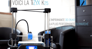 Kit impirmante 3d TiZYX K25