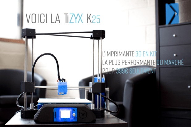 Kit impirmante 3d TiZYX K25