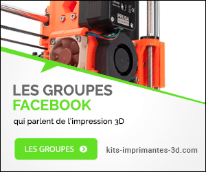 Groupe Facebook impression 3D
