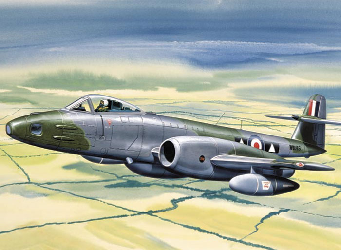 Gloster Meteor FR9 Review by Brett Green Classic Airframes 148
