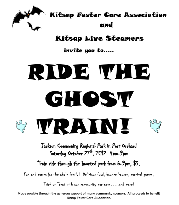ARE YOU READY FOR GHOST TRAIN?