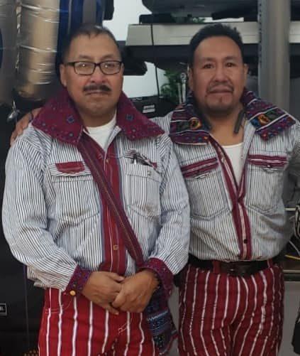 Mariano and his brother Prudencio
