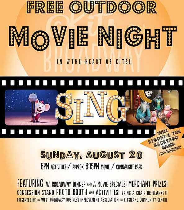 Movie Night-Sunday August 20