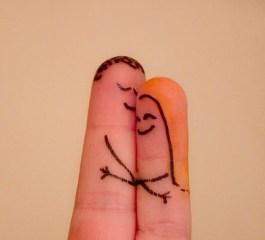 Loving fingers