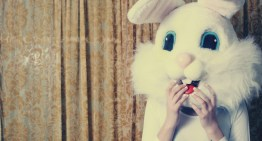 Lesbian Easter Bunny: the photo documentary of a lonely bunny at Easter