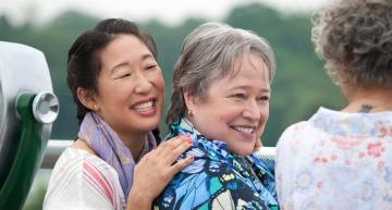 Kathy Bates Discusses Her Lesbian Role In 'Tammy'