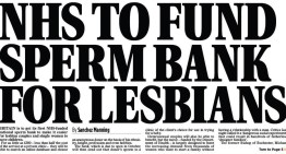 Retribution for the Mail On Sunday for Misleading 'Sperm Bank for Lesbians' Headline – #AddForLesbiansToAHeadline