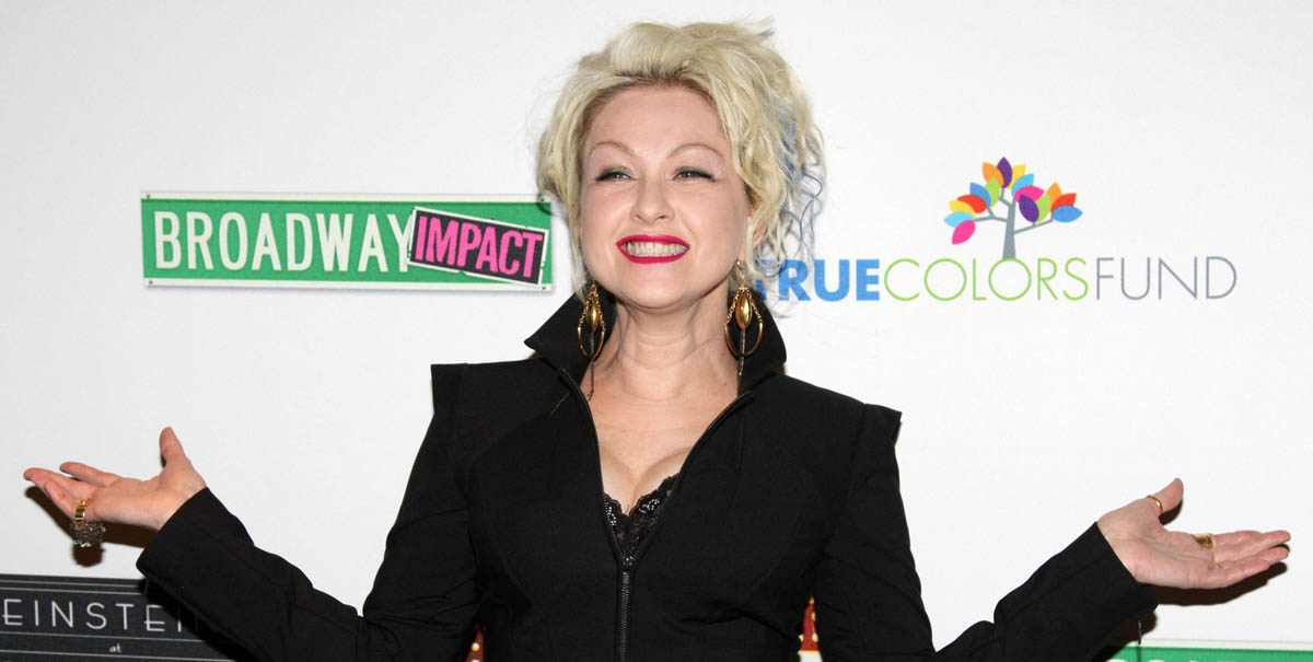 Cyndi Lauper Opens Housing for LGBT Youth in New York