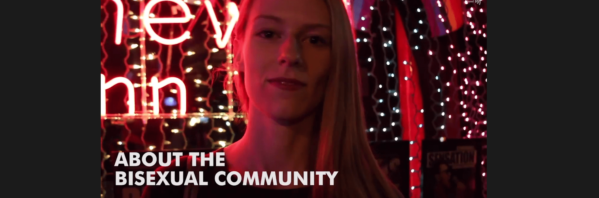 Bisexual People Tell Their Stories at the iconic Stonewall Inn for #BiWeek