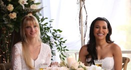 Spoiler Alert | Here Come The Brides – First Look At Glee's Brittana Wedding (Tissues Ready)