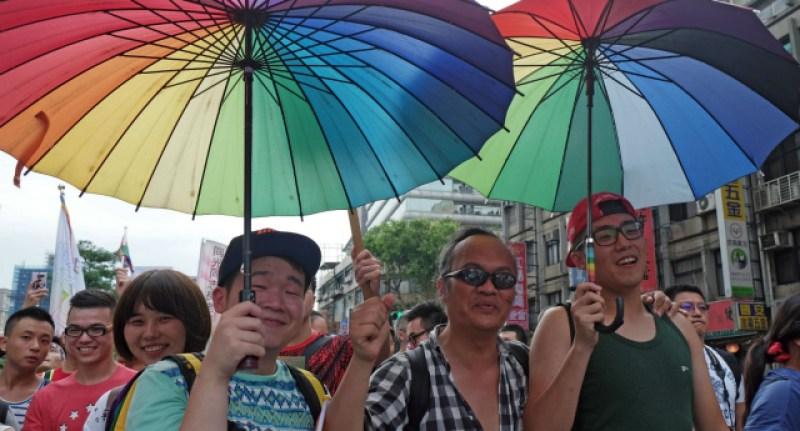 Taiwan-LGBT-Supporters