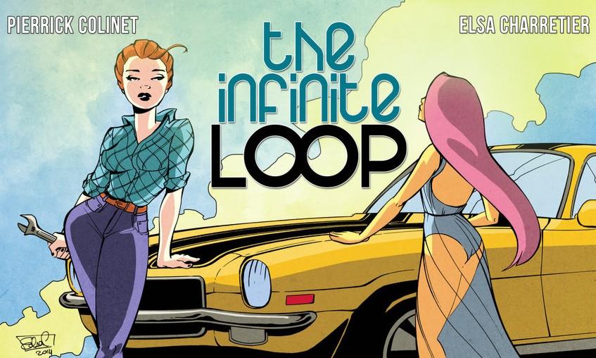 Sci-Fi Comic Infinite Loop 02
