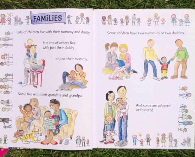 The Big Book of Families- By Mary Hoffman and Ros Asquith