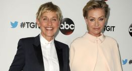 Ellen DeGeneres Honored For Humanitarian Work By People's Choice Awards