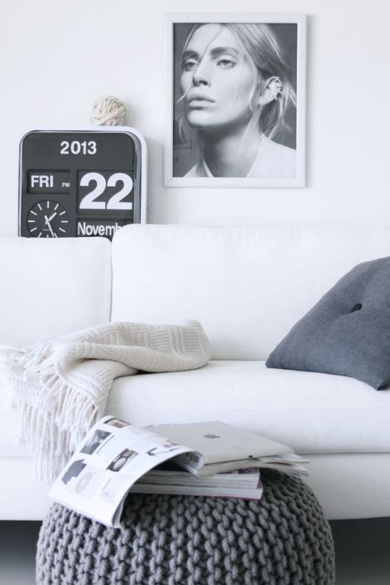 Mini-Flip-Clock-White