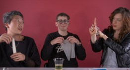 Lesbian Try Dental Dams For The First Time (And The Result Are Hilarious)