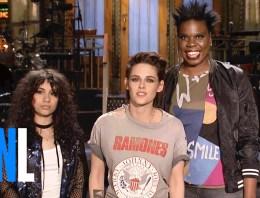 Kristen Stewart Makes Her Mark On Saturday Night Live