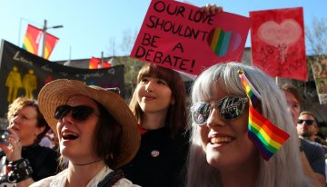 Anti-Gay Activists In Australia Claim Equal Marriage 'Discriminates Against Lesbians'