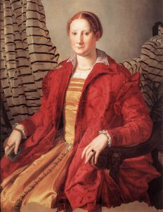 1550 Lady Bronzino