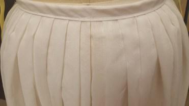 Under petticoat pleats